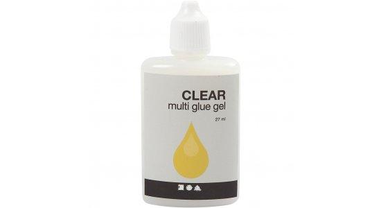 Clear Multi Glue Gel, 27 ml