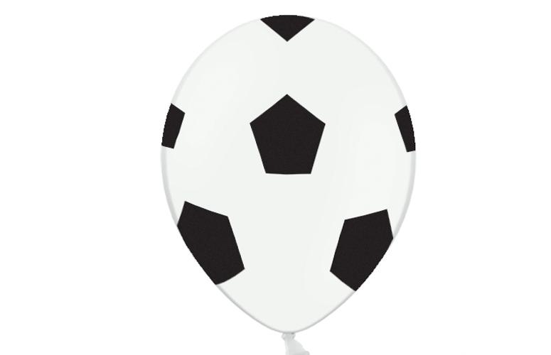 Balloner, fodbolde. 6 stk