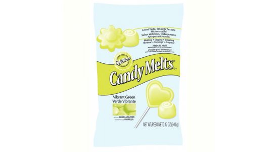 Candy Melts, lysegrøn. 340 g.DATOVARE 24/2-2017