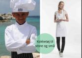 Kokketøj og forklæder, børn og teens