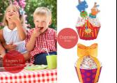 Cupcake wraps - Festlige cupcakes