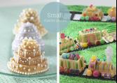 Bageforme til små figurkager.