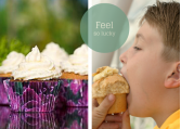 JUMBO muffinsforme, Cupcakes