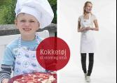 Kokketøj, børn og teens