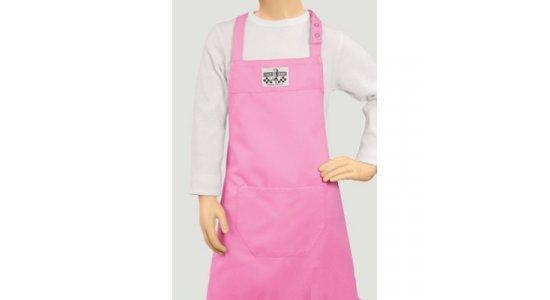 Pink forklæde, børn. Chaud Devant