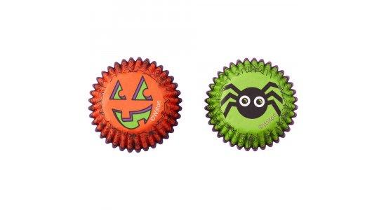 Halloween MINI muffinforme.Spider/Græskar