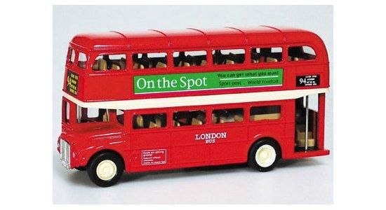 London Bus, die-cast