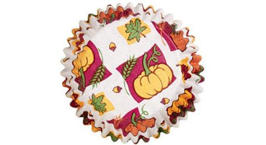 Muffinsforme, Harvest. Efterårsmotiver.