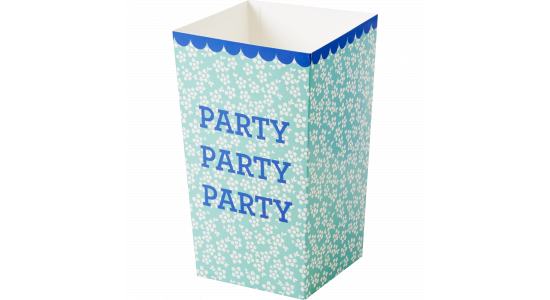 Party popcorn bægre. 6 stk. Grøn.