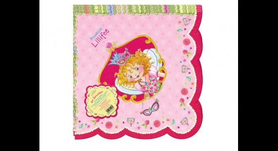 Prinsesse Lillefe papirservietter. Ny kollektion