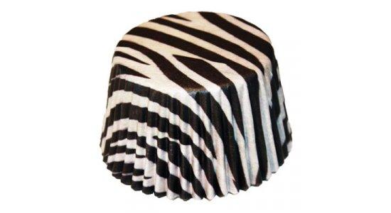Trøffelforme i papir, Zebra