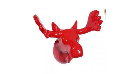 Moose, Elg knage fra Puhlmann. rød