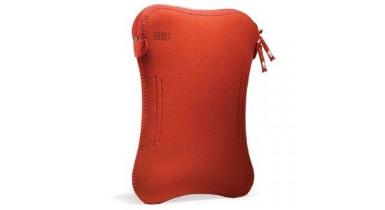 Laptop Sleeve. Built NY, 10'', Orange/rød