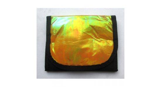 Guldfarvet nylonpung