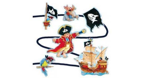 Capt'n Sharky partyguirlande