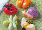 Bageform Garden Bugs.5 insekter. Nordic Ware