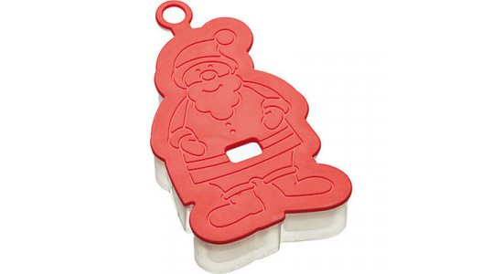 Let's make soft touch 3D cookie cutter, julemand