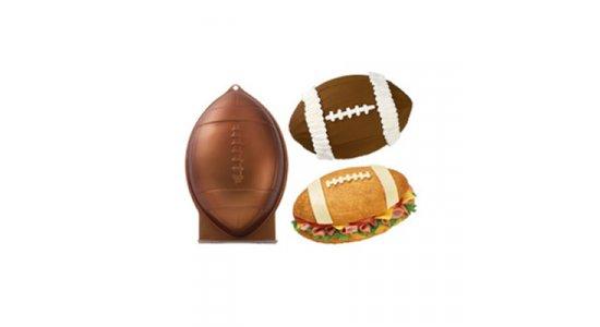 Bageform til amerikansk fodbold.