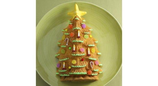 Juletræ Bundt bageform. JULETEMA