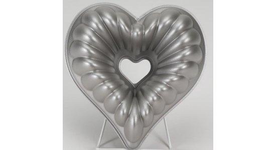 Bageform til stort hjerte. Nordic ware.