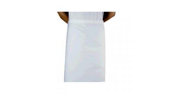 Kokke/tjener forklæde, langt hvidt. Chaud Devant