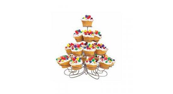 Muffinstativ til 23 muffins. Cupcake stativ
