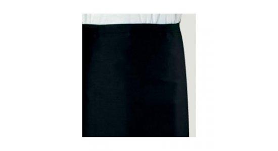 Kokke/tjener forklæde, langt sort. Chaud Devant