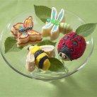 Bageform til muffins, insekter. Nordic Ware