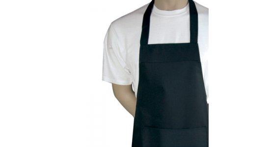 Barbecue Grill forklæde. EKSTRA LANGT. Sort. Chaud Devant