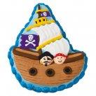 Bageform til piratskib