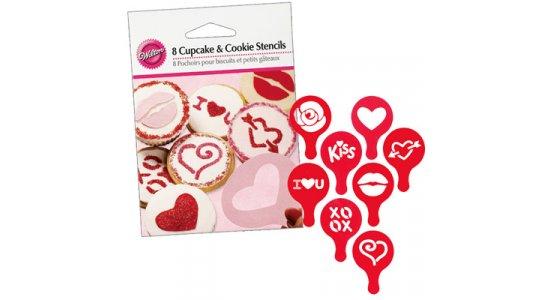 Valentine Cupcake dekorationssæt