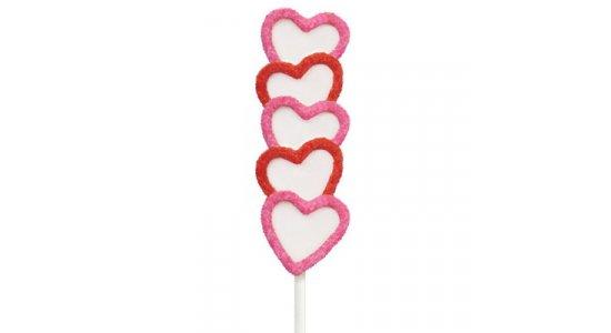 Heart Pops silikone kageform. CAKE POPS