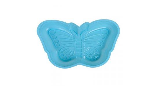Silicone Bageform til sommerfugl, Turkis