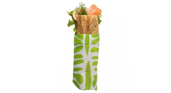 Sandwichpapir, Zebra limegrøn