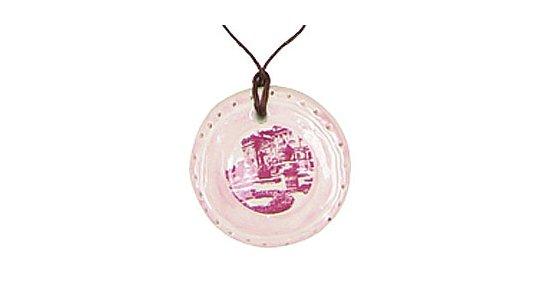 Halskæde med vedhæng i porcelæn fra Rice