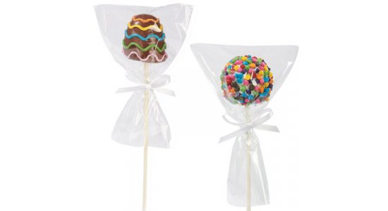Poser med bånd til POP CAKES, 12 stk