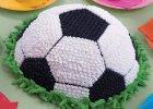 Bageform til fodbold. Fodboldfest
