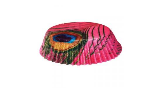 Papirforme til kanelsnegle, Påfugl