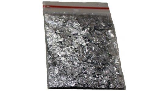 Sølvstøv.