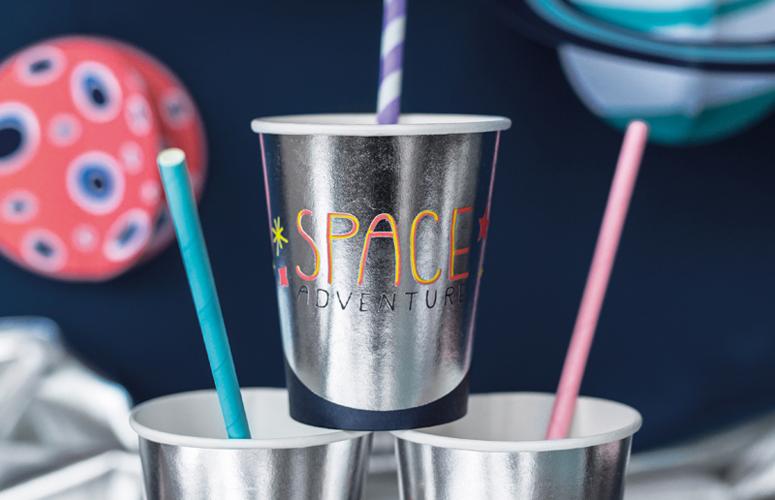 Papkrus Space. 6 stk