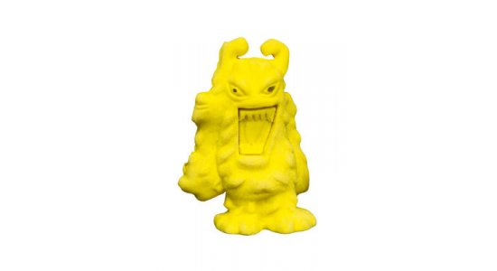 Viskelæder, Gult Monster
