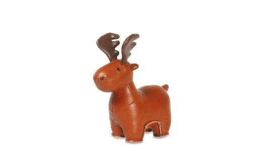 Züny Baby Moose / Elg. BRUN. Papirvægt.FRAGTFRI